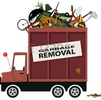 trash removal trips and any type of material and m Columbia, 21045