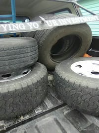 5 tires 3 are mounted  Commerce City, 80022