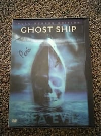 Ghost Ship Full-screen edition DVD case El Paso, 79915