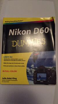 Nikon d60 for dummies Richmond, V7E 4C7