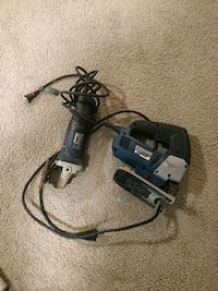 black and gray corded power drill Silver Spring, 20904