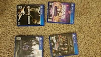 three assorted PS4 game  Richmond, 23234