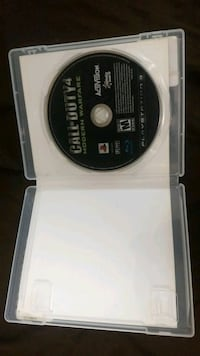 Ps3 call of duty 4 moden worfer games disc Ottawa, K1R 5W6