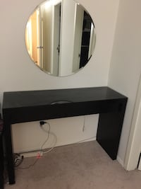 Ikea dresser with glass top without mirror  15 mi
