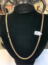 """26"""" link chain 10k yellow gold Syracuse, 13206"""