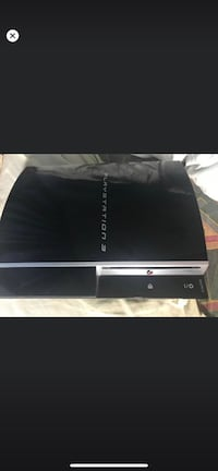 PS3 with game