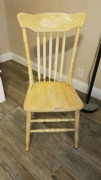 2 antiqued oak chairs for sale Lake Forest, 92630