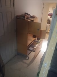 filing cabinet with storage