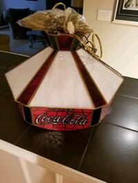 Collectable Coca Cola Tiffany light Mississauga, L4Z 3A9