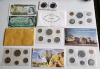 Lot of 1970s-80s Canadian PL Coin Sets + Bills+ La Calgary, T2R 0S8