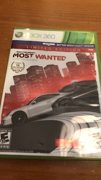 Xbox 360 nfs most wanted game Martinsburg, 25403