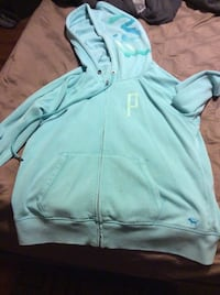 teal Under Armour pullover hoodie 374 mi