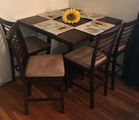 Wooden Table and/or 4 Chairs Dining Set Springfield, 07081