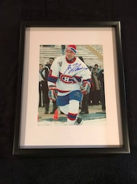 Montreal Canadiens Guy Lafleur signed and framed photo Châteauguay, J6K 2A7