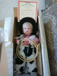 Porcelain collectible doll Philadelphia, 19125
