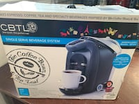 Rarely found new CBTL single serve coffee maker Signal Mountain, 37377