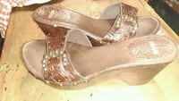 nicole clogs, size 9M, dark brown with buckle  Killeen, 76541