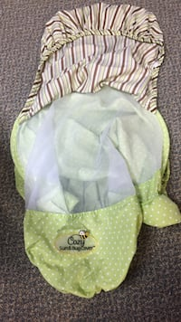 Sun and bug car seat cover Bluemont, 20135