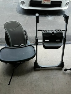 graco black and gray high chair mechanicsville md