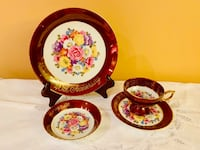 40th Ruby Anniversary fine china Set saji Japan Toronto, M1M 3H2