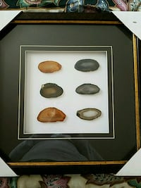 six brown and black stones with brown frame Patchogue, 11772