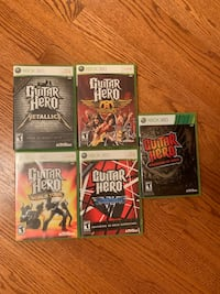 Guitar Hero Specials Xbox 360 5 pack.