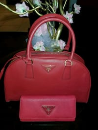 red leather 2-way bag Los Angeles, 90062