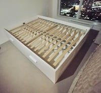 Bed frame for double size (not include mattress)  Burnaby, V5H 0E8