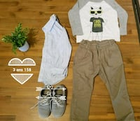 baby's white and gray footie pajama Montréal, H1N 2R6
