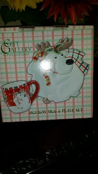Christmas Fitz and Floyd Reindeer Holiday Set  West Covina, 91790