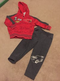 2 PC - fall/winter clothing for toddler boy size 2T Mississauga, L5W 1Z4