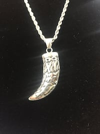 Stainless steel chain and pendant  Las Vegas, 89102