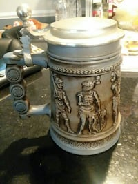gray ceramic beer stein Falls Church, 22044