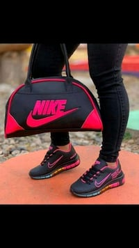 Nike Shoes and Bag set - Size 9