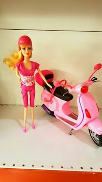 Barbie motorsiklet