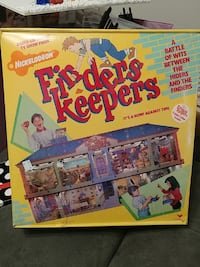 Finders keepers board game