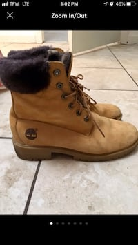 Timberland faux fur boots  Silver Spring, 20895