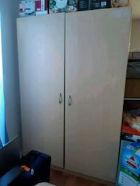 wooden 2-door wardrobe Surrey, V3W 1L1