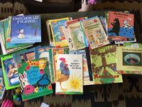 assorted story books and books