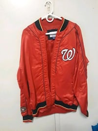 red and white letterman jacket 28 mi