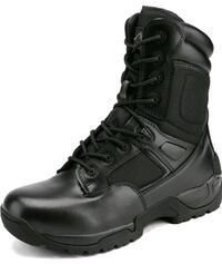 Men's Military Tactical Work Boots Hiking Motorcycle Combat Bootie