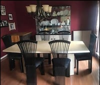 Dining Room Table, Chairs and Hutch Ellicott City, 21043
