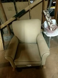 white and brown wooden armchair Paradise, 95969