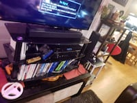 Like new glass tv stand 3 tiier black  St. Albert, T8N 4J3