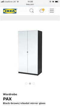 White and black wooden cabinet Bristol, BS4 4BY