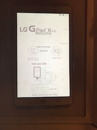 New LG table 32 GB Wi-Fi +4G LTE Cellular Unlocked Montgomery Village, 20886