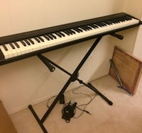black and white electronic keyboard Rockville, 20850