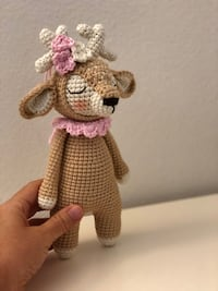 pink and white amigurumi doll Los Angeles, 91335
