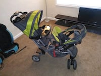 Baby Trend Sit n Stand double luxury stroller Washington, 20032