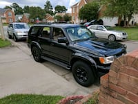 black SUV Chesapeake